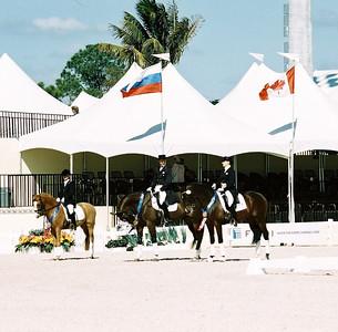 CDI 3* YR, YR 16-25 and Pony Freestyle winners