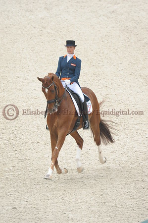 014 - 30 - Adelinde Cornelisen (NED) - Jerich Parzival N O P  - 2014 World Equestrian Games
