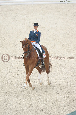 011 - 30 - Adelinde Cornelisen (NED) - Jerich Parzival N O P  - 2014 World Equestrian Games