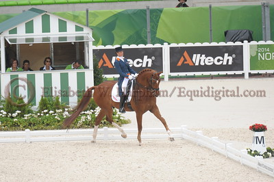 004 - 30 - Adelinde Cornelisen (NED) - Jerich Parzival N O P  - 2014 World Equestrian Games