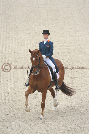 018 - 30 - Adelinde Cornelisen (NED) - Jerich Parzival N O P  - 2014 World Equestrian Games