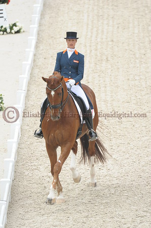 021 - 30 - Adelinde Cornelisen (NED) - Jerich Parzival N O P  - 2014 World Equestrian Games
