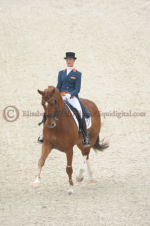 016 - 30 - Adelinde Cornelisen (NED) - Jerich Parzival N O P  - 2014 World Equestrian Games