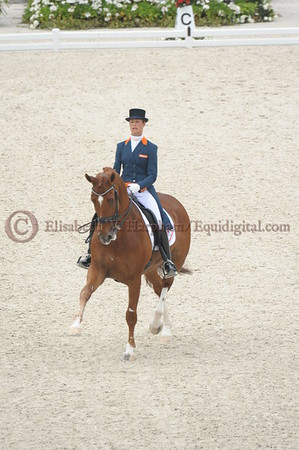 008 - 30 - Adelinde Cornelisen (NED) - Jerich Parzival N O P  - 2014 World Equestrian Games