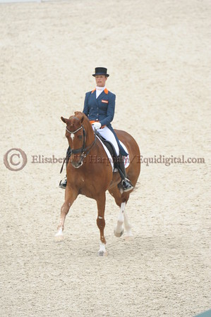 012 - 30 - Adelinde Cornelisen (NED) - Jerich Parzival N O P  - 2014 World Equestrian Games