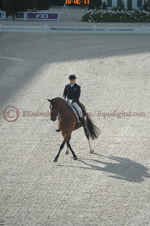 017 - 4 - Lars Petersen (DEN) - Mariett - 2014 World Equestrian Games