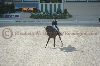 008 - 6 - Belinda Trussell (CAN) - Anton - 2014 World Equestrian Games