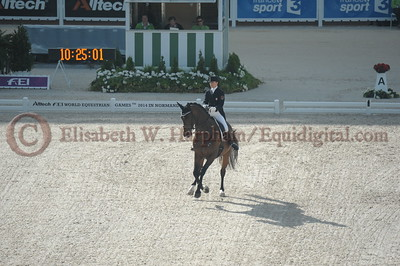 007 - 6 - Belinda Trussell (CAN) - Anton - 2014 World Equestrian Games