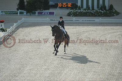 010 - 6 - Belinda Trussell (CAN) - Anton - 2014 World Equestrian Games