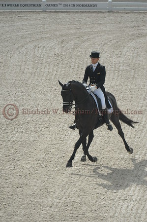 016 - 9 - Edward Gal (NED) - Glock's Voice - 2014 World Equestrian Games