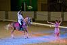 Julio Mendoza and Lindsay Winkler<br /> Horse: Lusitano gelding named Xairel, owned by Jeanne Belcher