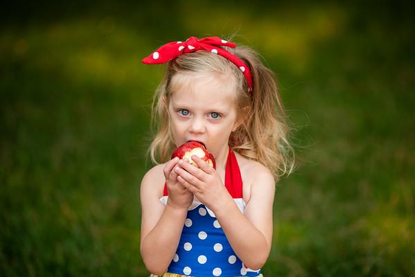 Paisley Snow White Dress-8262