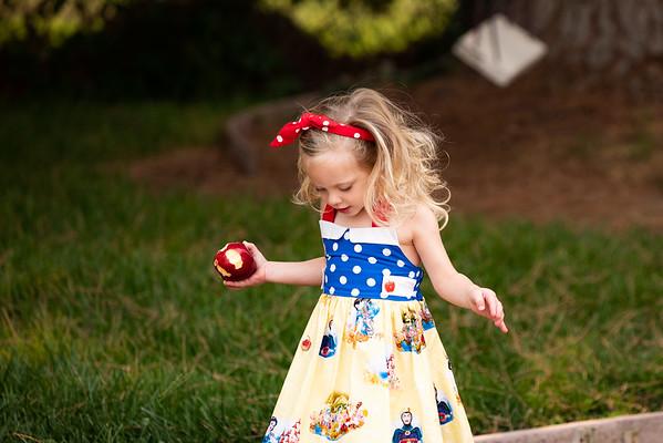 Paisley Snow White Dress-8434