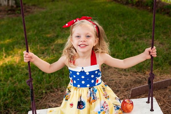 Paisley Snow White Dress-7957