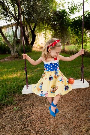 Paisley Snow White Dress-7904