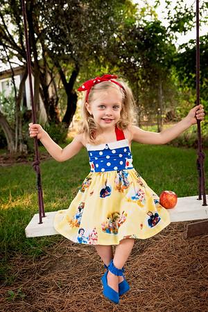 Paisley Snow White Dress-7907-