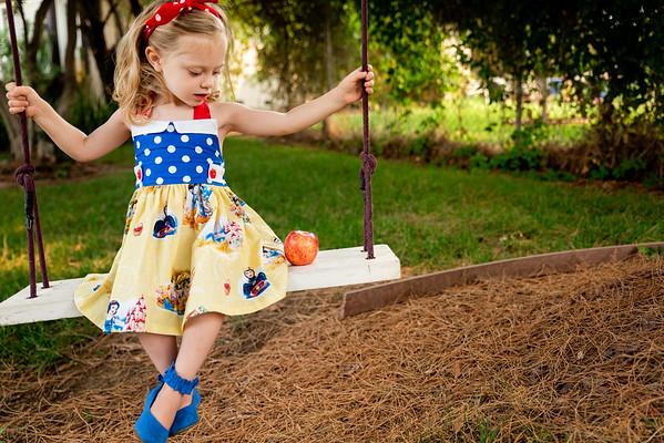 Paisley Snow White Dress-