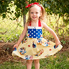 Paisley Snow White Dress-7983