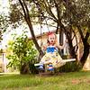 Paisley Snow White Dress-8297