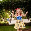 Paisley Snow White Dress-8357
