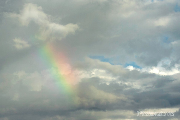 Rainbow in Clouds