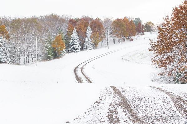 Winter Meets Fall