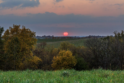 A Driftless Sunset