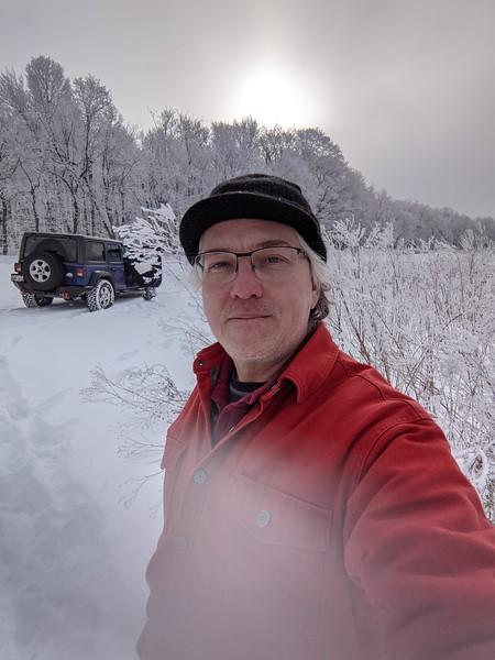 Rime Frost Selfie