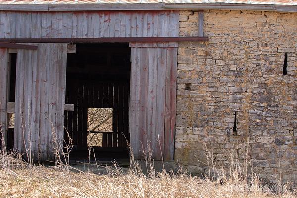 Through the Rock Barn