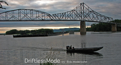 SOUTHBOUND COAL BARGES