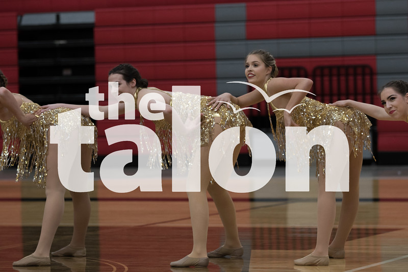 The Majestics performe in the Majestics showcase  at Argyle  High School in Argyle , Texas, on January, 15, 2019. (Karina Navarro  / The Talon News)