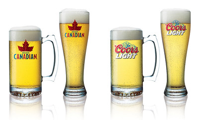 Stock shots for Molson/Coors