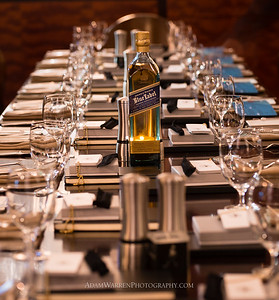 Edge Restaurant & Bar, House of Walker dinner, presented by Master of Whisky Robert Sickler, at the Four Seasons Hotel, Denver, Colorado