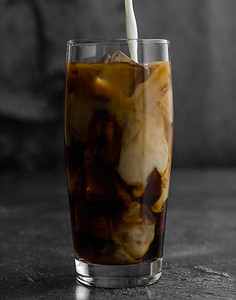 iced brown coffee