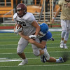 Dripping Springs football scrimmages at New Braunfels