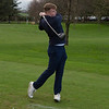 Junior Boys Captain Sean with an excellent follow through !!