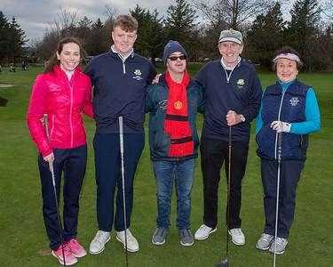 Kate, Sean, Stephen (Special Olympics Champion Golfer), Jim & Miriam