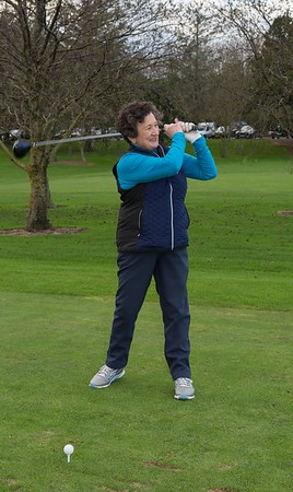 Ladies Captain Miriam showing how it should be done !!!