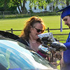 KRISTOPHER RADDER — BRATTLEBORO REFORMER<br /> Trevor Cloutier, a graduating senior at Hinsdale Middle High School, in Hinsdale, N.H., decorates a vehicle with his mom, Frankie, before a graduation parade through town on Tuesday, June 9, 2020.