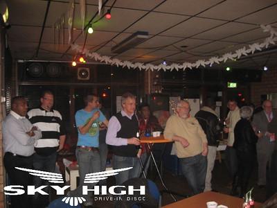 Drive-in Disco Skyhigh,ZBSV Birds Zoetermeer, 7 januari 2012