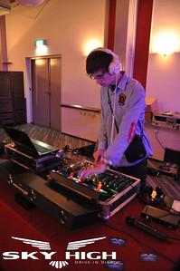 Feestavond Jan en Helga op 14 januari 2012 in 2BHome te Zoetermeer. Muziek werd verzorgd door Drive-in disco SKYHIGH