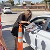 Drive-through retirement reception, Tuesday, May 11, 2021. [Tim Hacker/ Mesa Public Schools]