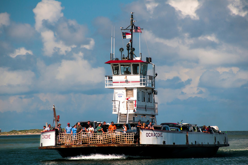 The  Hatteras-Ocracoke Ferry