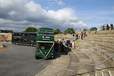 RCL2248 and 9850 at Dynamic Earth after a wee tour round