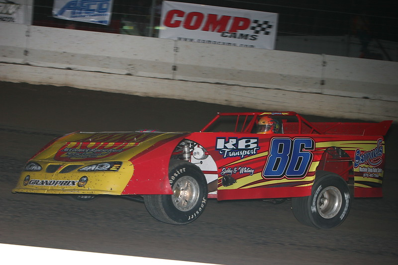 20 YEAR OLD KYLE BEARD IN THE #86 GRT CHASSIS FROM TRUMANN, ARKANSAS