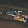 SOUTHERN OHIO LATE MODEL RACER HOT ROD CONLEY RACES WITH BRADY SMITH AT THE 2007 DIRT TRACK WORLD CHAMPIONSHIP