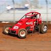 Ventura, CA racer Cory Kruseman making an Indiana start at Lawrenceburg Speedway.