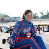 Ford development driver Stephanie Mockler