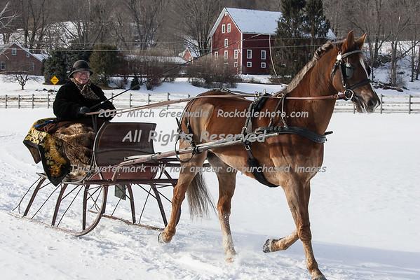 Green Mountain Horse Association Sleigh Rally, 2013