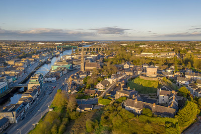 Drogheda on the Boyne ( Aerial )